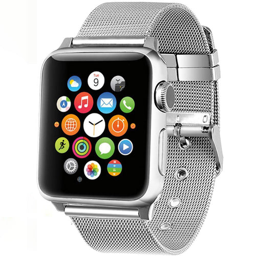 Stainless Steel Bands/Strap For Apple Watch Series 4, 3, 2 & 1 (42mm, 38mm) & (44mm, 40mm)