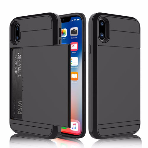 2 in 1 Dual Layer Armour Strong Protection Shock Proof Case for iPhone X
