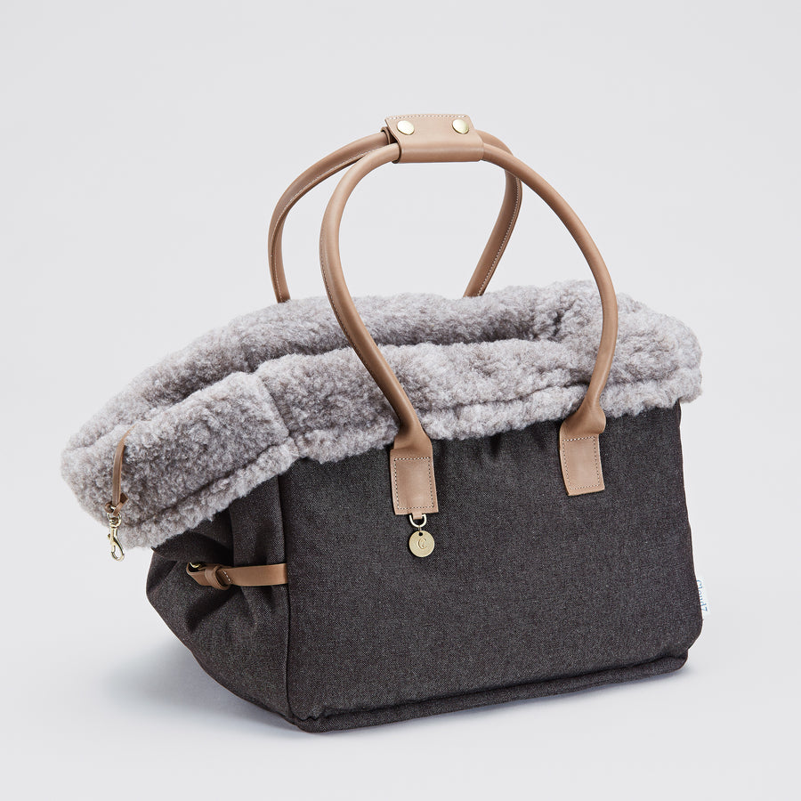 DOG CARRIER BAG | Heather Brown | CLOUD 7