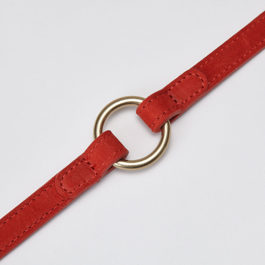 LEAD | Luxury Leather in Red