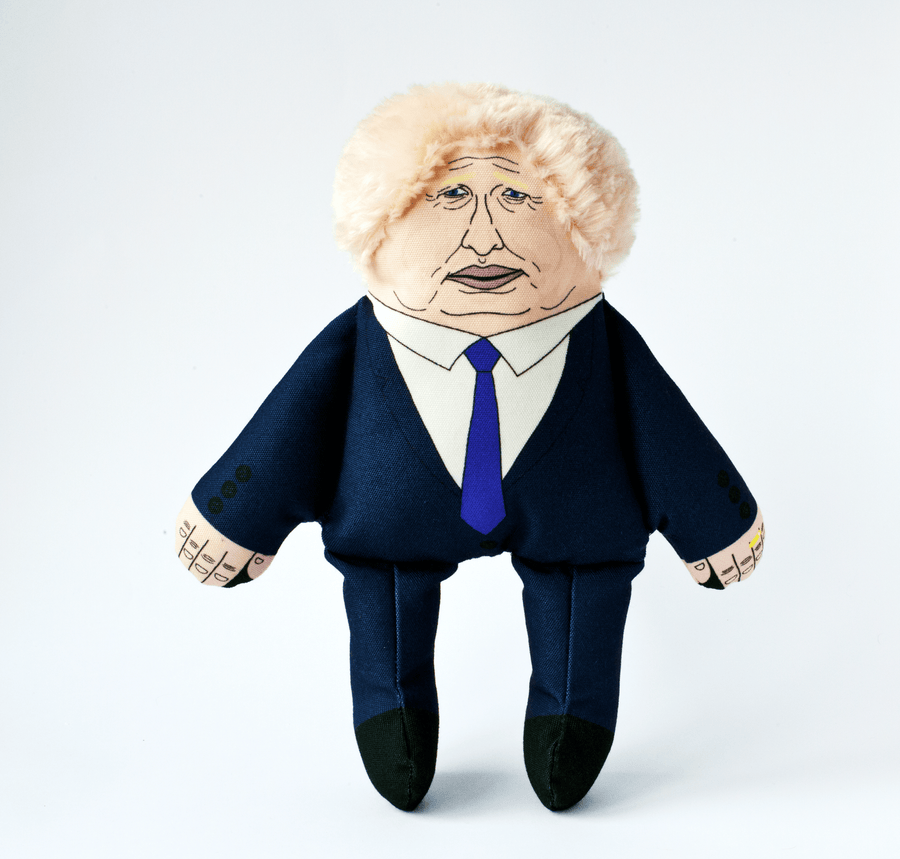 TOY | PLUSH | Boris Johnson | With 2 squeakers