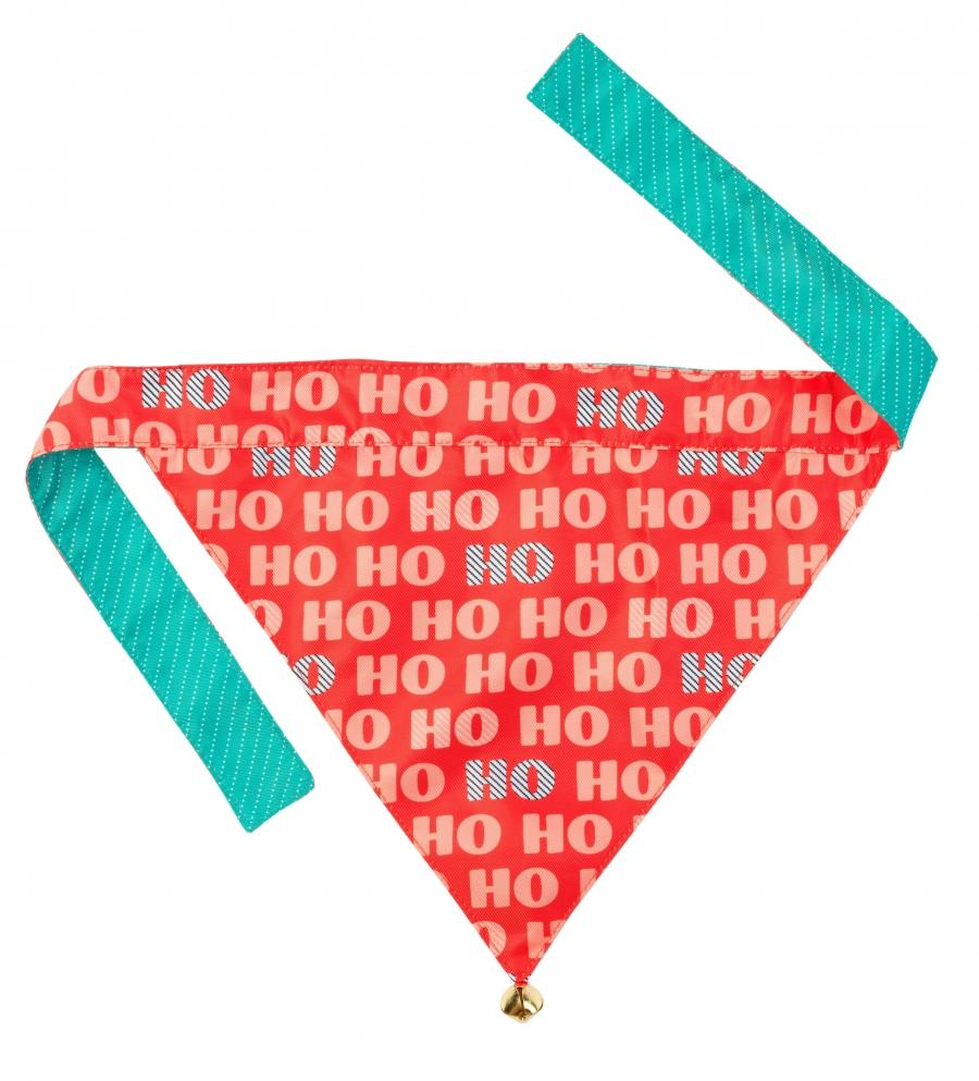 CHRISTMAS BANDANA | Double Sided with a bell | FuzzYard