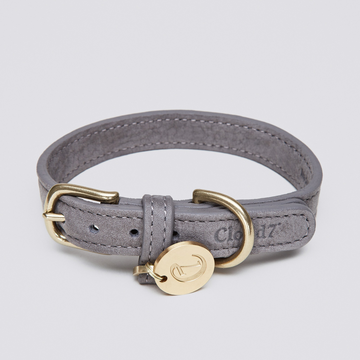 COLLAR | Luxury Leather in Taupe | CLOUD 7
