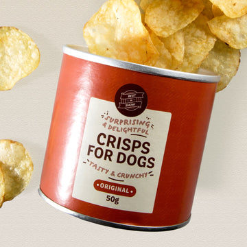 CRISPS FOR DOGS  | Best in Show | Low Calorie | 50g