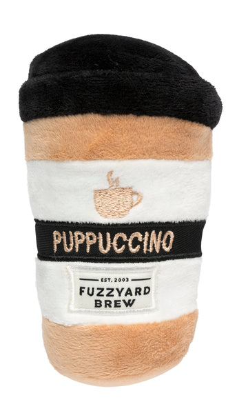 TOY | PLUSH | Puppuccino | With Squeaker