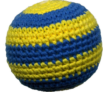 CROCHET TOY | Football Ball with Squeaker | PEPPER'S CHOICE