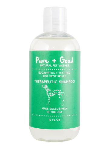 SHAMPOO | Therapeutic | Eucalyptus and Tea Tree | PURE + GOOD