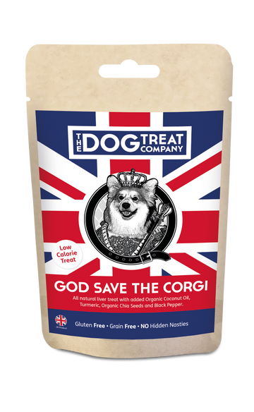 BAKED | Treats | Special Edition | God Save The Corgi | Pouch 80g