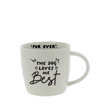DOG LOVER'S MUG | The Dog Loves Me Best | Best in Show