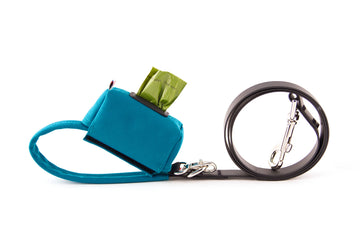 POO BAG HOLDER | Funston Dog Baggie Turquoise