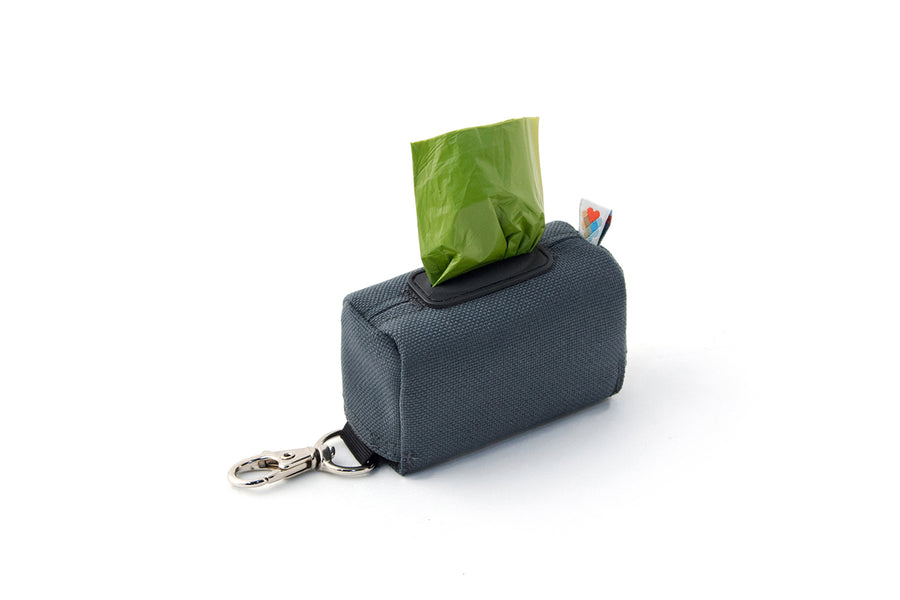 POO BAG HOLDER | Funston Dog Baggie Charcoal
