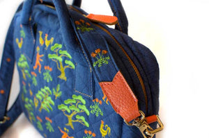Lucky Pine Quilted Shoulder Bag
