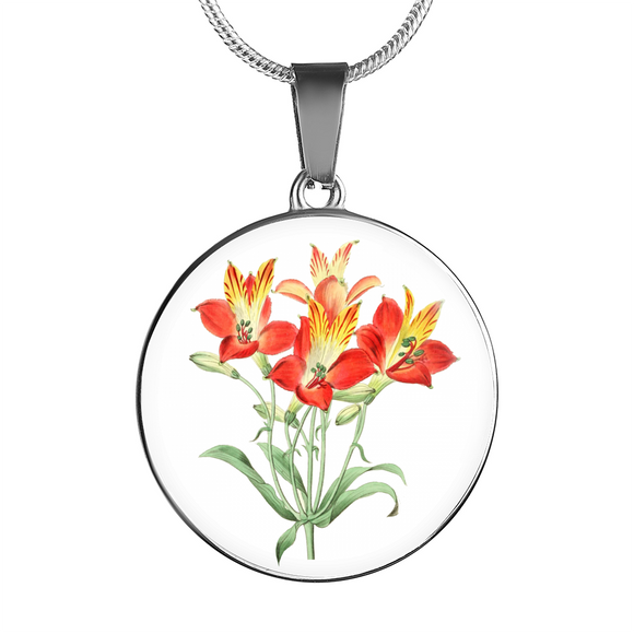 Alstromeria, Necklace