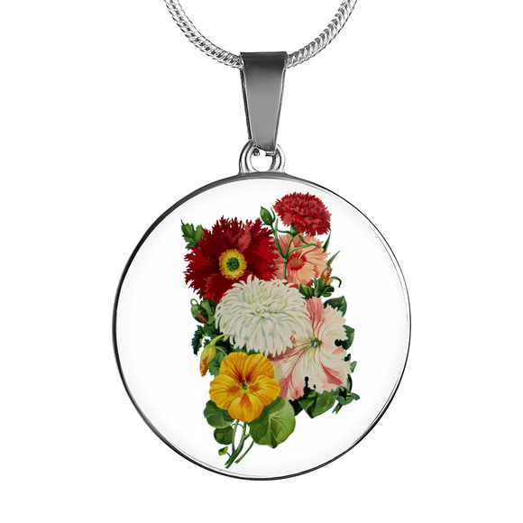Poppies, Necklace