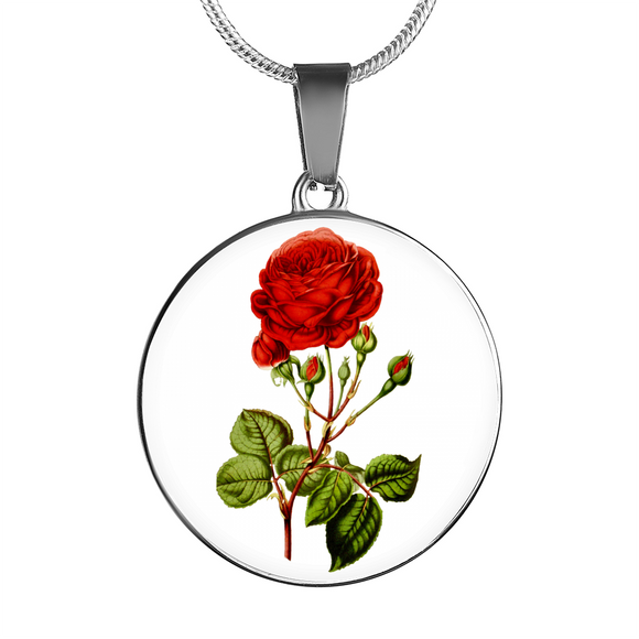 June: Rose Red 2, Necklace