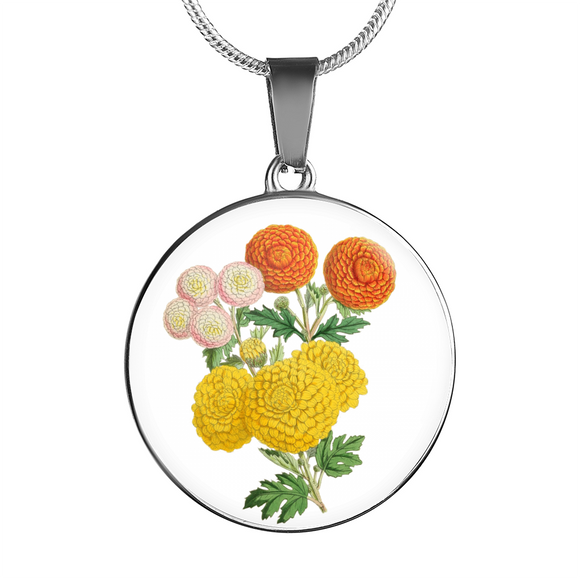 Chrysanthemum, Necklace