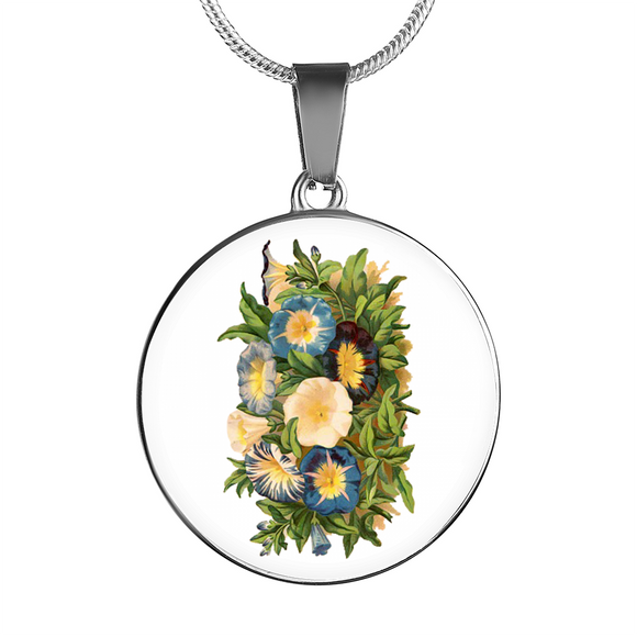 Morning Glory, Necklace