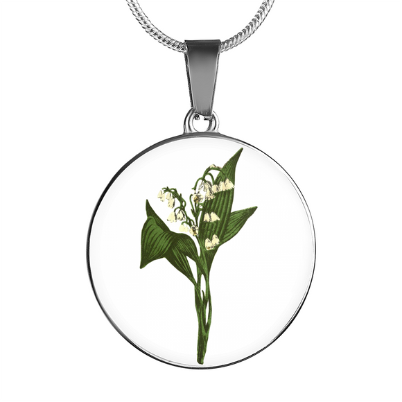 Lily of the Valley, Necklace