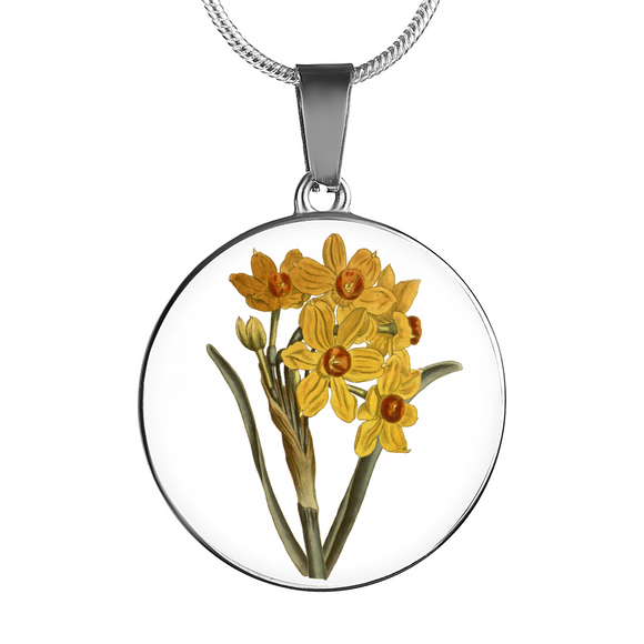 Narcissus Yellow, Necklace