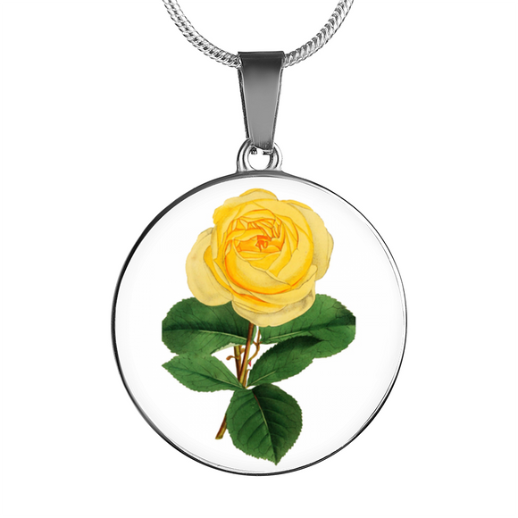 June: Rose Yellow, Necklace
