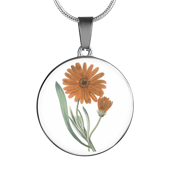 Calendula, Necklace