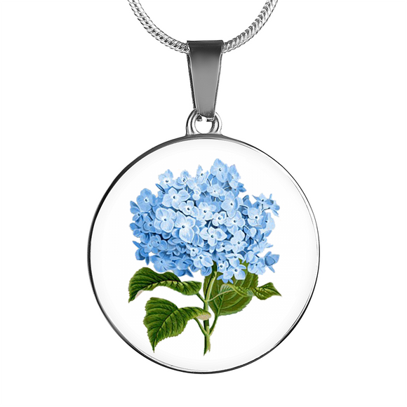 Hydrangeas, Necklace