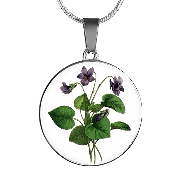 African Violet, Necklace
