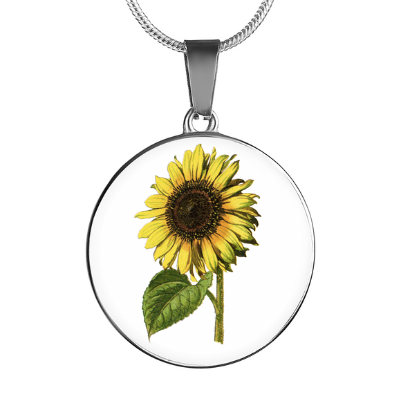 Sunflower, Necklace