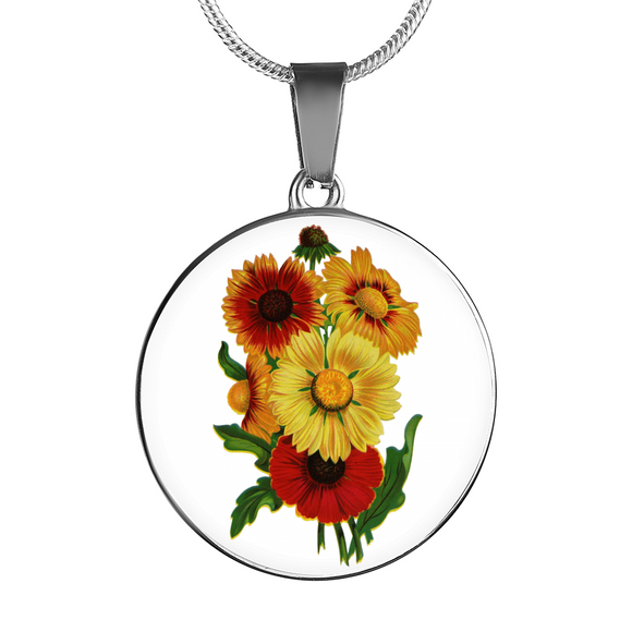 Sunflowers 2, Necklace