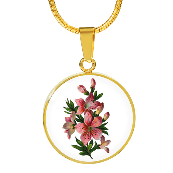 Taurus: Lily Pink, Necklace