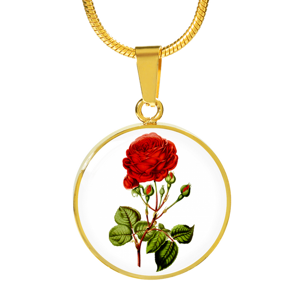 Gemini: Rose Red 2, Necklace