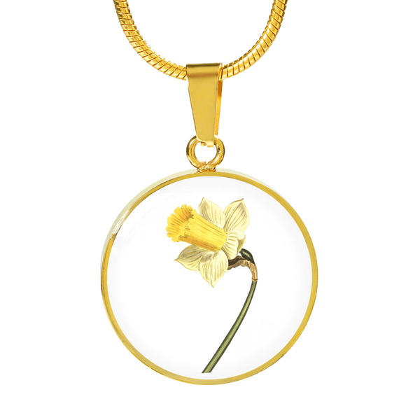 Daffodil, Necklace