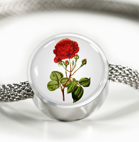 June: Rose Red 2, Luxury Bracelet