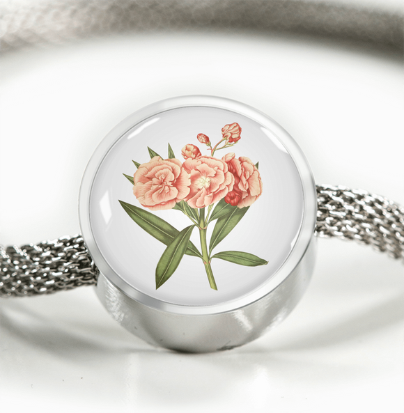 Carnation Soft Pink, Luxury Bracelet