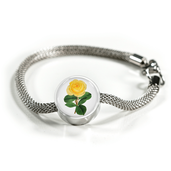 June: Rose Yellow, Luxury Bracelet