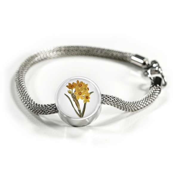 Narcissus Yellow, Luxury Bracelet