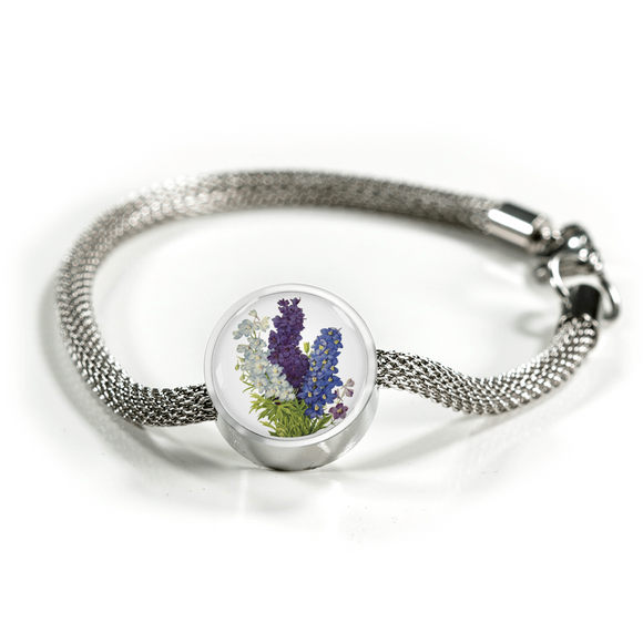 Larkspur, Luxury Bracelet