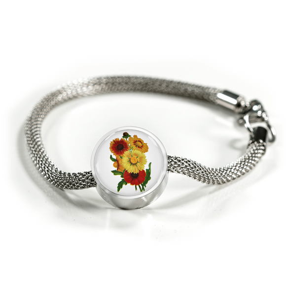 Sunflowers 2, Luxury Bracelet