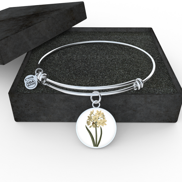 Narcissus, Bangle Bracelet
