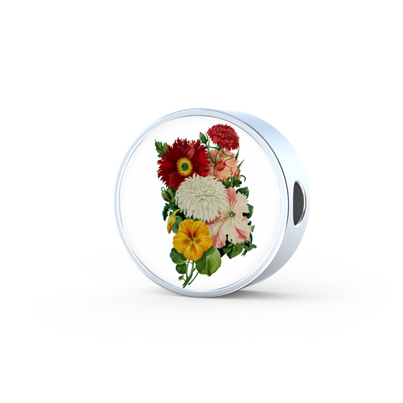Poppies, Round Charm Only