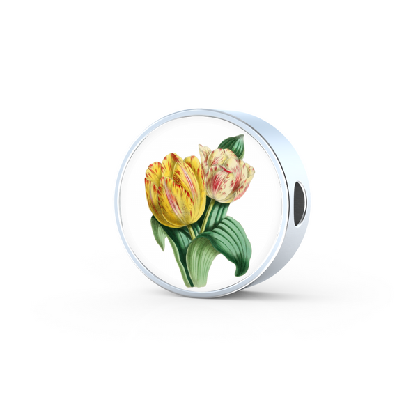 Tulips 2, Round Charm Only