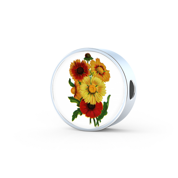 Sunflowers 2, Round Charm Only