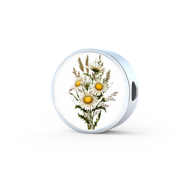 Daisies, Round Charm Only
