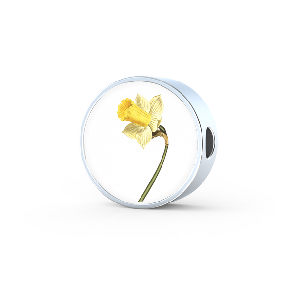 Daffodil, Round Charm Only
