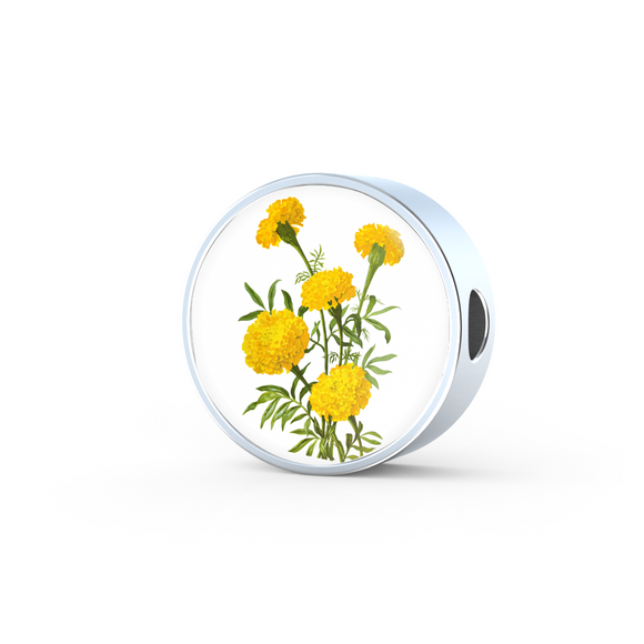 Marigold 3, Round Charm Only