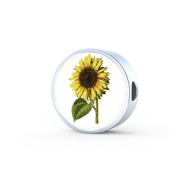 Sunflower, Round Charm Only