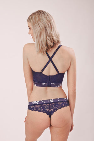 Aurora Thong Navy