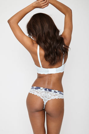 Aurora Thong Light Blue