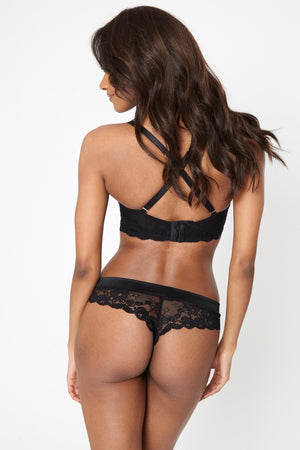 Aurora Thong Black