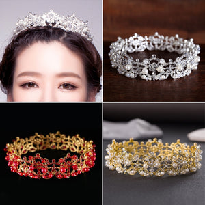 Faux Pearl Crown